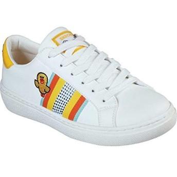 [スケッチャーズ] レディース スニーカー Line Friends Goldie Cool Crew Sneaker [並行輸入品]