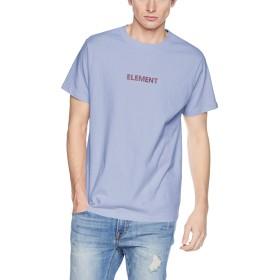 [エレメント] [メンズ] 半袖 プリントTシャツ (ロゴプリント)[ AI021-270 / DAZZLE SS TEE ] ロンT パステル おしゃれ BLF_ブルー US L (日本サイズL相当)