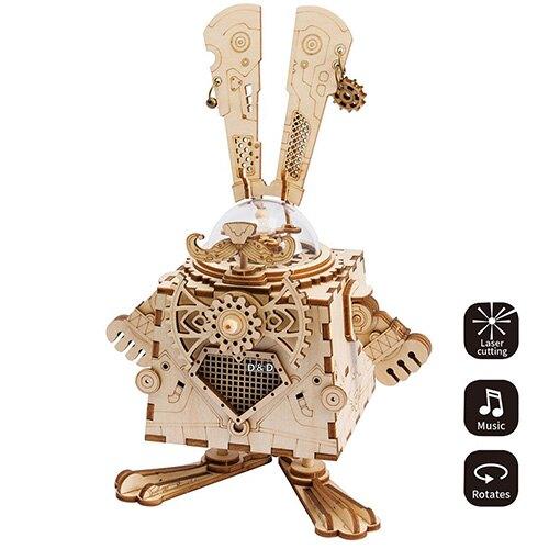 《Robotime》木製 拼圖 AM481 Bunny 東喬精品百貨