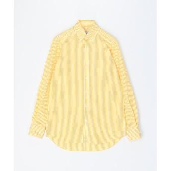 トゥモローランド 120/2コットンブロード ボタンダウン ドレスシャツ NEW BD 4 メンズ 26イエロー系 37 【TOMORROWLAND】