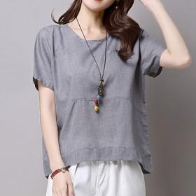 Akane Tシャツ 人気 ファッション 上着 爽やかな ゆったり 綺麗 薄い 魅力的 夏 半袖 トップス レディース カジュアルスタイル 日常 (3色)93YYC203969