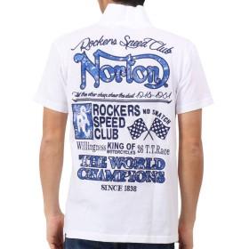 [ノートン] Norton ポロシャツ 吸水速乾 MAX シャツ 192N1200 ホワイト L