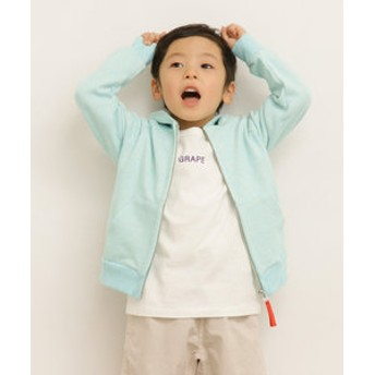 【URBAN RESEARCH:トップス】オーガニック裏毛ジップパーカー(KIDS)