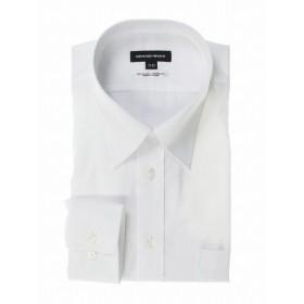 [マルイ]【セール】・【大きいサイズ】綿100%形態安定レギュラーカラー長袖シャツ 白/グランバック(GRAND-BACK)