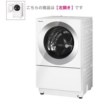 パナソニック ドラム式洗濯機 7.0kg 左開き NA-VG710L-W 泡洗浄W キューブル