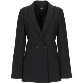 《期間限定 セール開催中》ARMANI JEANS レディース テーラードジャケット ブラック 36 ポリエステル 96% / ポリウレタン 4%