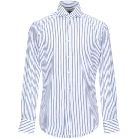 《期間限定 セール開催中》BRUNELLO CUCINELLI メンズ シャツ ホワイト S コットン 100%
