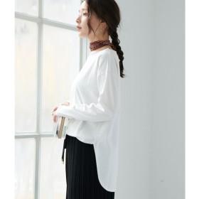 【ロペピクニック/ROPE' PICNIC】 【WEB限定】サイドスリットロングスリーブTシャツ