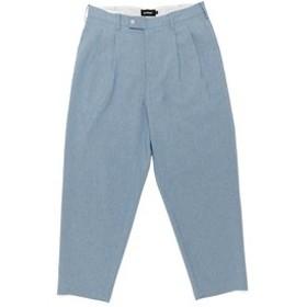 【XLARGE:パンツ】9L WIDE TUCK PANT