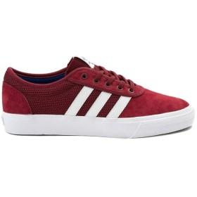 [adidas(アディダス)] 靴・シューズ メンズスニーカー Mens adidas Adi-Ease Skate Shoe バーガンディ/ホワイト US 8.5 (26.5cm) [並行輸入品]