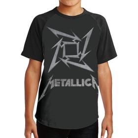 夏9~15歳の半袖Tシャツ Metallica 人気の サンシャインボーイ半袖Tシャツ