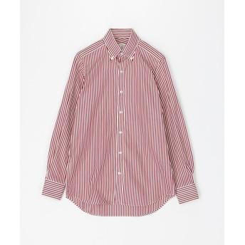 トゥモローランド 120/2コットンブロード ボタンダウン ドレスシャツ NEW BD 4 メンズ 36レッド系 39 【TOMORROWLAND】