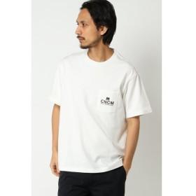 【イッカ/ikka】 【CANTON COTTON MILLS】ワンポイントTシャツ