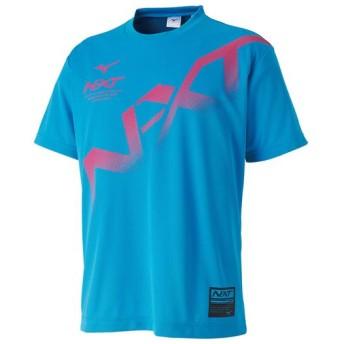MIZUNO SHOP [ミズノ公式オンラインショップ] N-XT Tシャツ[ユニセックス] 26 スカイブルー 62JA9Z53