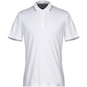 《セール開催中》ELEVENTY メンズ ポロシャツ ホワイト XXL コットン 100%