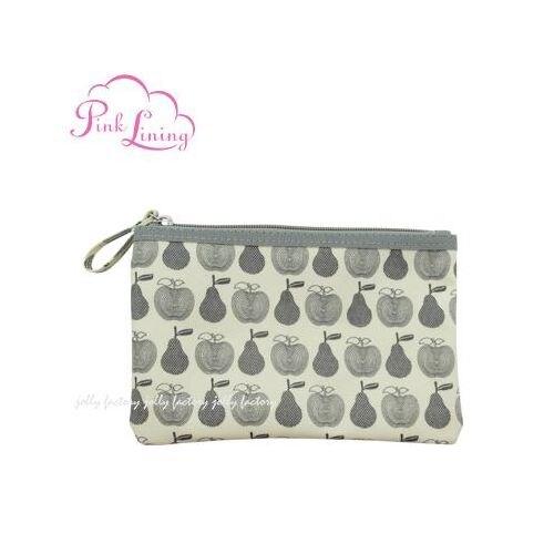 英國 Pinklining 置物零錢袋/手提包-水果灰★愛兒麗婦幼用品★