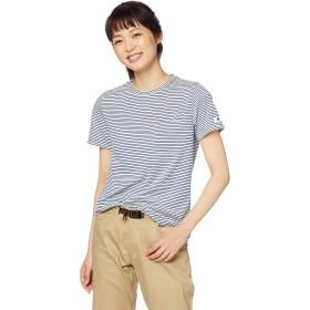 [Mizuno] アウトドアウェア クィックドライボーダー半袖Tシャツ 吸汗速乾 UVカット B2MA9228 レディース アイボリーボーダー 日本 S (日本サイズS相当)