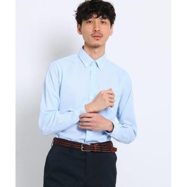 (TAKEO KIKUCHI/タケオキクチ)【洗える】CS_カラミ織りシャツ[ メンズ シャツ ビジネス 速乾 軽量 ウォッシャブル ]/メンズ ライトブルー(091) 送料無料
