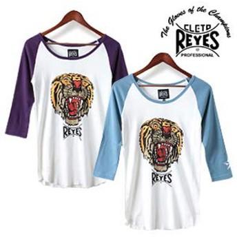 [レイジェス] 3/4スリーブ ベースボールTシャツ REY33 メンズ L ブルーグレー