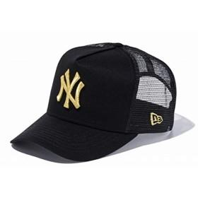 ニューエラ 9FORTY Dフレーム トラッカー 11120228 ニューヨーク・ヤンキース 黒/金 メッシュキャップ black/gold D-FRAME TRUCKER New York Yankees