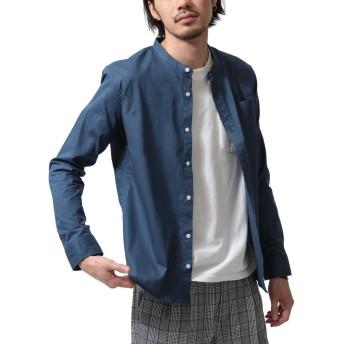 [ジップファイブ] ZIP FIVE ブロードバンドカラー長袖シャツ br2009 7インクブルー S