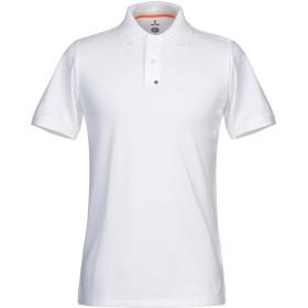 《期間限定 セール開催中》PARAJUMPERS メンズ ポロシャツ ホワイト S コットン 100%