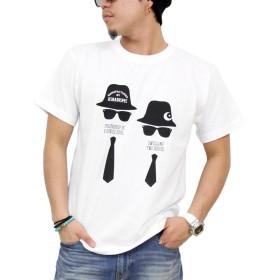 (アスナディスペック)ASNADISPEC tシャツ メンズ 大きいサイズ ティシャツ 半袖Tシャツ シルエット ロゴ logo ストリート 柄 ブランド プリント t-シャツ asst2208 (M, WHITE)
