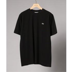 【エディフィス/EDIFICE】 LACOSTE / ラコステ ロゴカノコ クルーネック Tシャツ