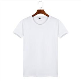 メンズTシャツ トップス 丸首 柔らか 無地 プレーン シンプル 綿 半袖 10色 XS~2XL