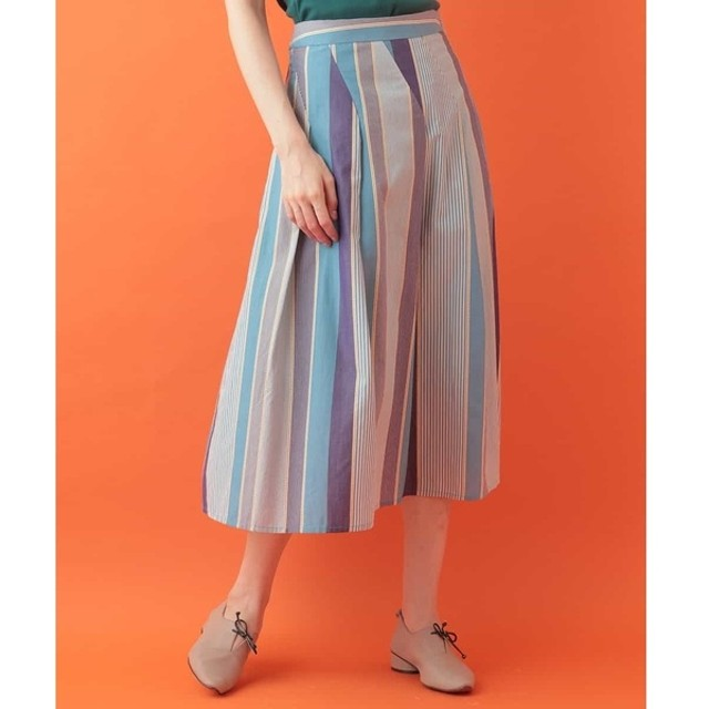 [マルイ]【セール】ランダムストライプスカート/ホコモモラ(JOCOMOMOLA)
