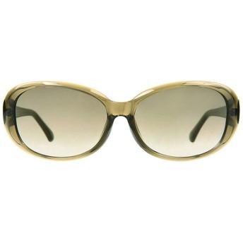 オーバル型ビッグシェイプサングラス|Zoff ゾフ 紫外線対策 UV対策 めがね おしゃれ レディース メンズ プラスチック【ZA181G04_64A1 ZA181G04-64A1 グリーン】