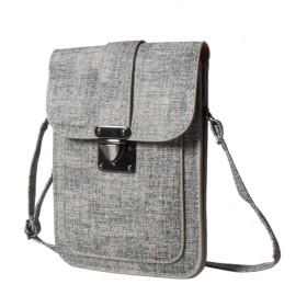 Fisstinaレディースミニショルダーバッグ 財布小さめクロスボディバッグ 携帯用スマホポーチ 斜め掛け 小物入れ 可愛い