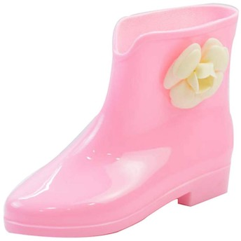 [スタジオ] おしゃれ レディース シューズ レインブーツ アウトドア 滑り止め ショート ブラック 歩きやすい 疲れない 可愛い 25.0cm 梅雨対策 豪雨対策 軽量 雨靴 ブーツ カジュアル ピンク 普段使い 婦人靴 雨 雪 通勤 通学 大きいサイズ