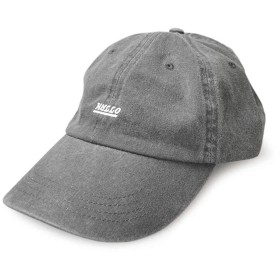 スタジオトムス HALLO SUPLLY 帽子 男女兼用 メンズ レディース th57 PIGMENT LOW CAP ピグメントローキャップ ワンポイント 加工 ゴルフ (ブラック)