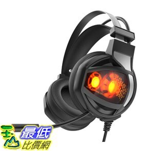 [8美國直購] 耳機 Gaming Headphone,GAKOV GAV9 7.1 Stereo Wired USB Computer Ear
