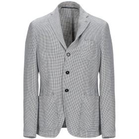 《期間限定セール開催中!》PAOLONI メンズ テーラードジャケット ブルー 50 麻 56% / コットン 44%