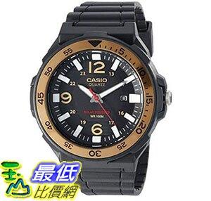 [美國直購] 手錶 Casio Men's Solar Powered Quartz Resin Automatic Watch Black MRWS310H-9BV