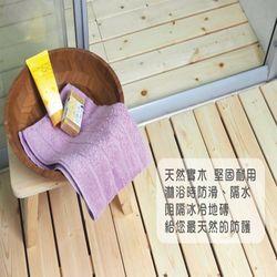 實木浴室防滑踏板75*45*4CM
