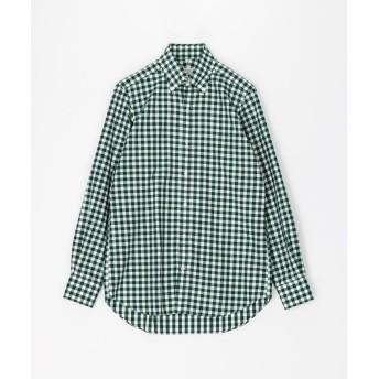 トゥモローランド 120/2コットンツイル ボタンダウン ドレスシャツ NEW BD 4 メンズ 56カーキ系 39 【TOMORROWLAND】