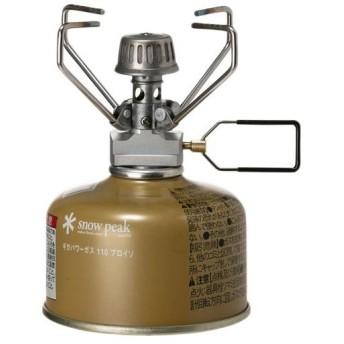 スノーピーク(snowpeak) ギガパワーストーブ 地 GS-100R2 キャンプ バーベキュー BBQ アウトドア ガスバーナー 調理用品