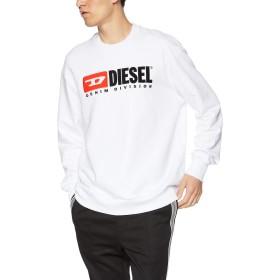 (ディーゼル) DIESEL メンズ スウェット ビンテージロゴスウェット 00SHEP0CATK XS ホワイト 100