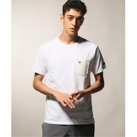 JOURNAL STANDARD relume SCHOTT / ショット LEATHER ONESTAR Tシャツ ホワイト XL