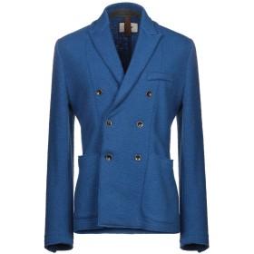 《期間限定セール開催中!》MACCHIA J メンズ テーラードジャケット ブルー 50 ウール 100%