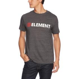 (エレメント)ELEMENT  メンズ  半袖 プリント Tシャツ (汗ジミ防止) [ AI021-216 / BLAZIN SS TEE ] 速乾 おしゃれ AI021-216 BLH BLH_ブラック XL
