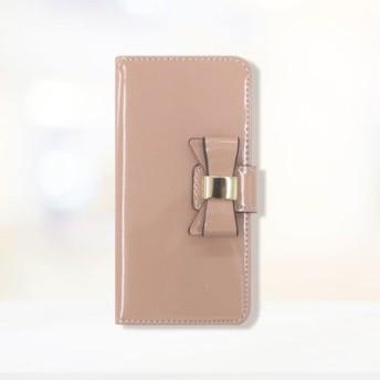 iphone6s/6/7/8 手帳型スマホカバー エナメルリボン フェリシモ FELISSIMO【送料無料】