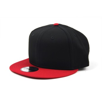 NEW ERA(ニューエラ) スナップバックキャップ ADJUSTABLE CAP 9FIFTY (BLACK/SCARLET)