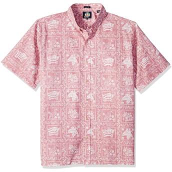 (レインスプナー)ReynSpooner LAHAINA SAILOR ラハイナセーラー柄 ハワイアンアイビーシャツ BottunFront 前開き 0125-1806(BlackTab)