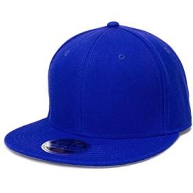 OTTO オット ウールブレンド ベースボールキャップ ロイヤルブルー 青 001 Royal blue 125-978 無地 ベースボール キャップ スナップバック フラットバイザー プロスタイル 帽子 オリジナル 別注 刺繍 対応