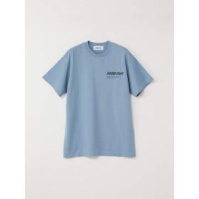 AMBUSH アンブッシュ 18aw ロゴtee Tシャツ (S, ブルー)