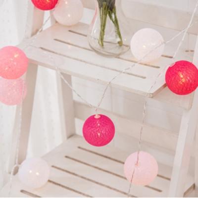 半島良品 IG爆款 派對布置/耶誕聖誕燈飾燈串 3米(B) - 棉球藤球